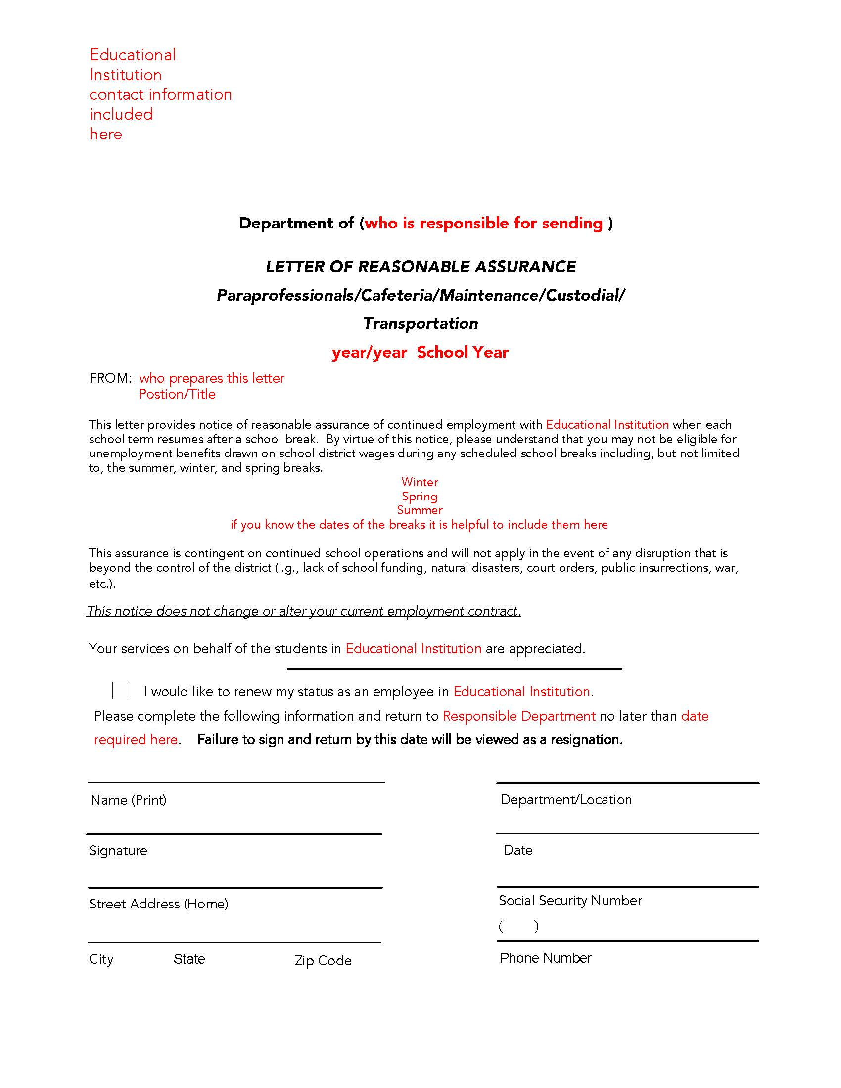 verification of income letter