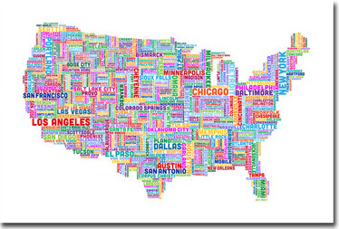 The Importance Of National Coverage - Seattle us map